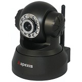 APEXIS APM [J011-WS-IRC] - Black - Ip Camera